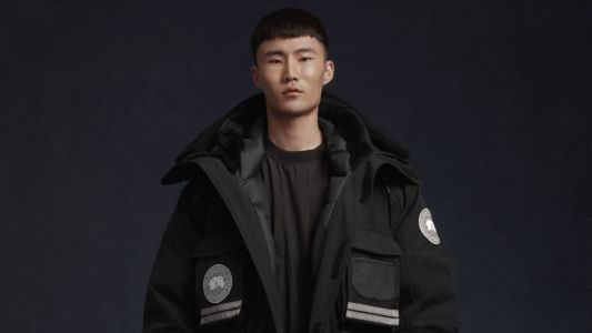 The Canada Goose X Juun.J capsule collection drops 18 October