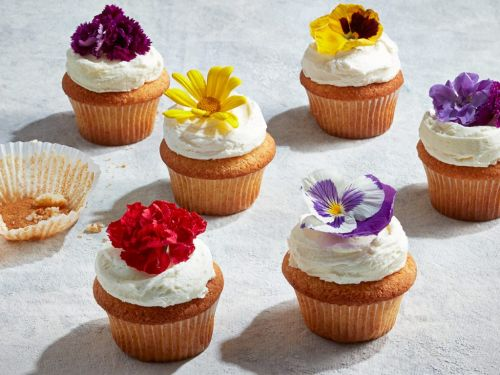 Our Lemon-Elderflower Cupcakes Deliver All The Royal Wedding Feels