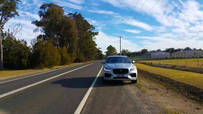Jaguar F-Pace S V6 Diesel - Driven Down Under