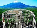 Japan rollercoaster by Mount Fuji to get 180ft-high observation deck