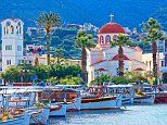 The Domes of Elounda in Crete where families come first