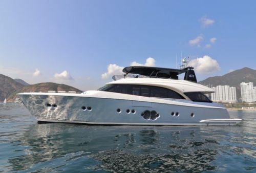 Monte Carlo Yachts Creates Special-Edition MCY 86 for Hong Kong