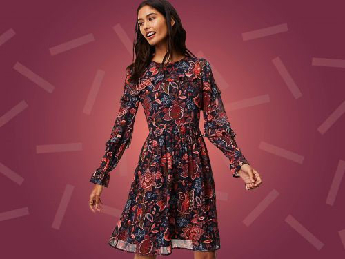 15 Gorgeous Dresses To Wear To A Fall Wedding, Starting At $20