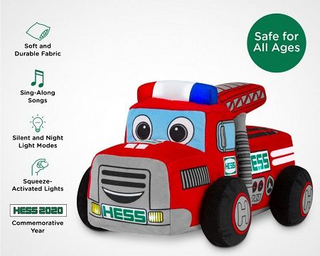 Hess Announces First Ever Plush Toy Truck