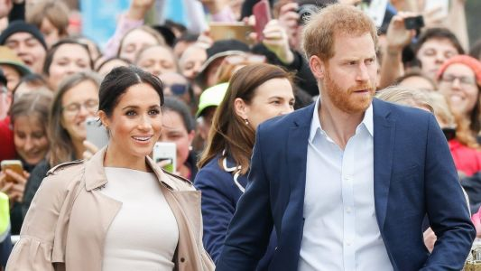 Meghan Markle Wore a Thing: Brandon Maxwell Sheath Dress in New Zealand Edition