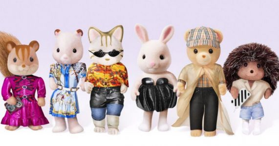 Sylvanian Families put on a fashion show at Hamleys and they look pretty vogue