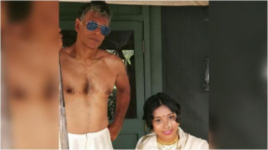 What Milind Soman posted for Ankita Konwar on their third wedding anniversary