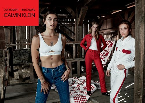 Millie Bobby Brown and Paris Jackson Star in New Calvin Klein Campaign