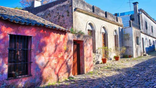 Colorful Colonia del Sacramento, Uruguay