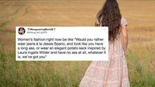 The Questionable Fashion Trends Of 2021, From Prairie Dresses To Pointy Nails