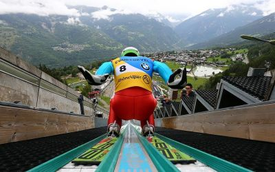 In pictures: Ski Jumping Grand Prix in Courchevel, France