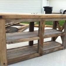 49 Awesome Barn Wood Console Table Images