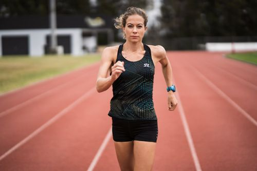 How a knee injury prompted Alana Barber to become a top-ranking race walker for New Zealand