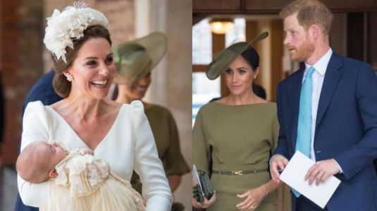 What did Prince Harry gift nephew Louis on his christening?