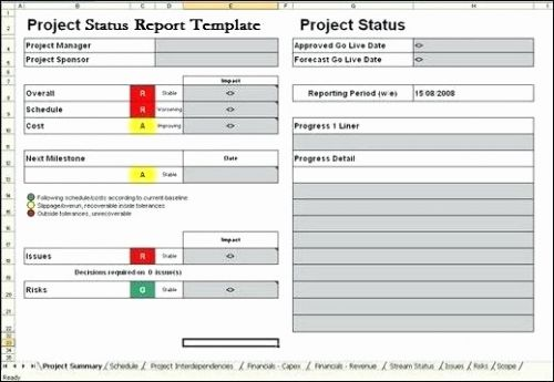 30 Best Of Project Portfolio Dashboard Template Excel Pictures