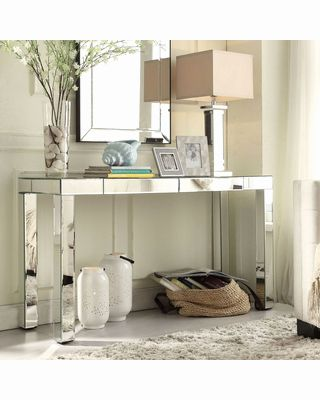 49 Unique Mirrored Console Table with Drawers Graphics