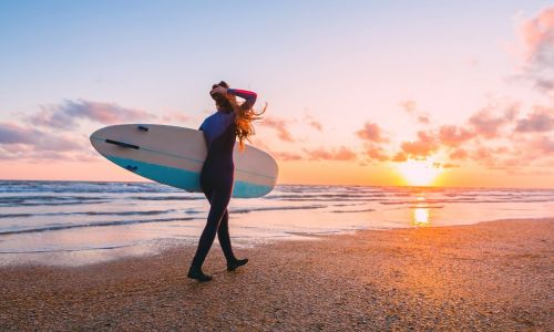 Surf's up! The 10 best places to learn to ride the waves