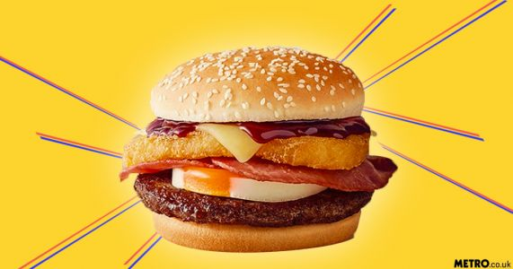 McDonald's has launched a Big Brekkie Burger - but it's not available in the UK