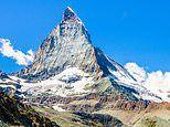 The Matterhorn mountain in the Alps is cracking