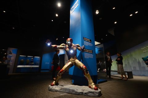 Exhibition traces the evolution of armour, from the Renaissance to Hollywood
