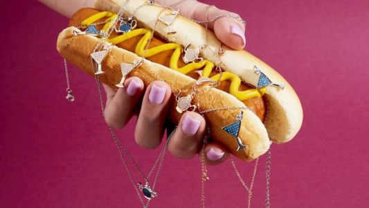 Carats for Dinner: fun food-themed jewellery for the summer