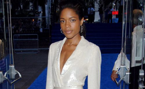 Great Outfits in Fashion History: Naomie Harris' White-Hot Sequined Tuxedo