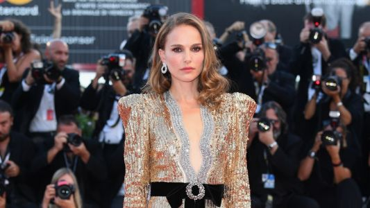 Natalie Portman Got Guccified in a Sequined Gown at the Venice Film Festival