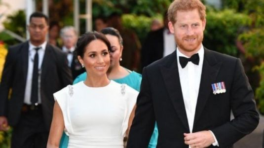 This is how Prince Harry and Meghan Markle celebrated first Valentine's Day apart. Watch video