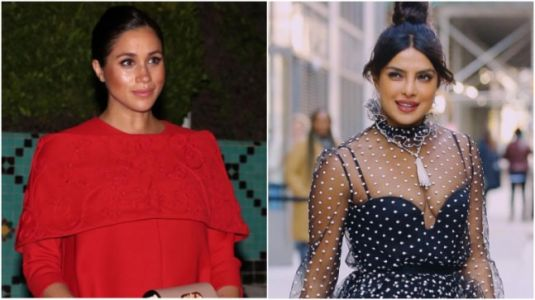 Priyanka Chopra shoots down rumours of fight with BFF Meghan Markle. Watch video