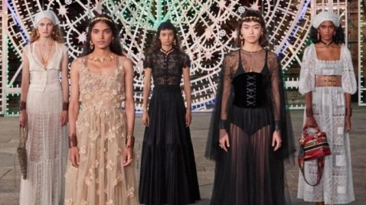 Dior showcases Italian folklore in audience-free catwalk show