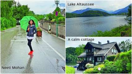 Singer Neeti Mohan tells why the spa town of Altaussee is worth ditching Austria's crowded cities for