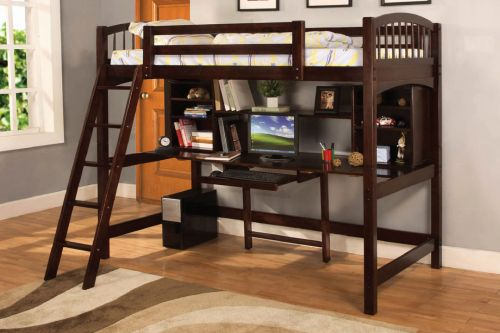 30 Awesome Full Size Bunk Bed with Desk Images