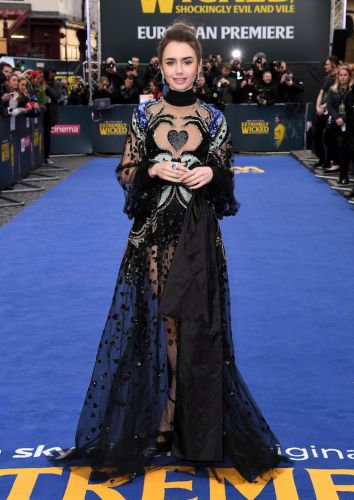 Lily Collins' Latest Look Is Giving Me Total Evil-Queen-Chic Vibes, and I Don't Hate It