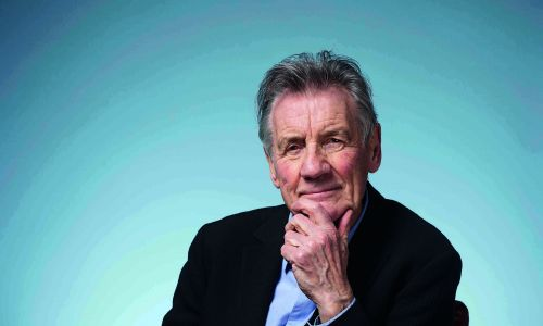 """Sir Michael Palin: """"I'm still fascinated by the challenges of going places where most people don't"""""""