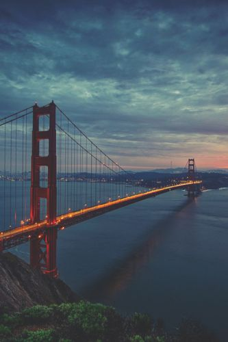 Ikwt:Golden gate sunset  | ikwt