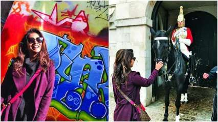 Shriya Saran's London diaries