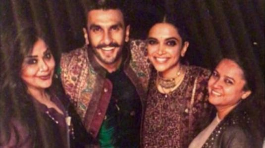 Ranveer and Deepika look stunning in Sabyasachi outfits at their chooda ceremony