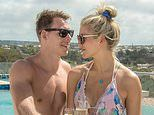 Welsh rugby star Liam Williams romances his girlfriend in the luxury of a top Barbados resort