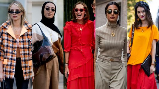 A Certain Celine Necklace Kept Popping Up During Milan Fashion Week