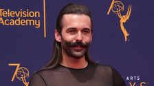 Jonathan Van Ness Just Made It Work In A Dress At The Emmys