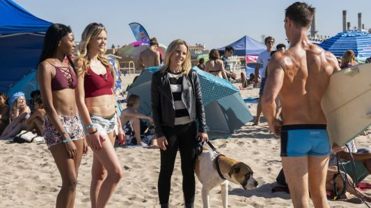 The 'Veronica Mars' Costumes Include a Rotation of Tough Moto Jackets and Logan's Tiny Swim Trunks