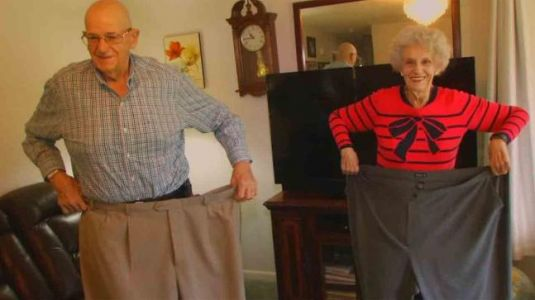 MondayMotivation: This 70-year-old husband & wife lost almost 180 kgs collectively