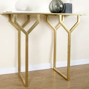50 Unique Gold Metal Console Table Graphics