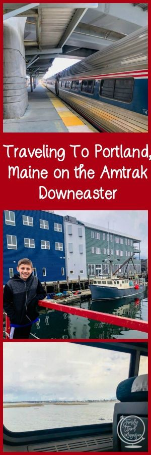 Traveling To Portland on the Amtrak Downeaster