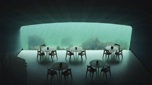 Your next reservation: Europe's first underwater restaurant is here!