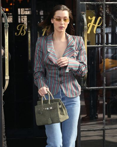 Why in the World Would Bella Hadid Carry a Bag That Looks Like-But is Not-an Hermès Birkin