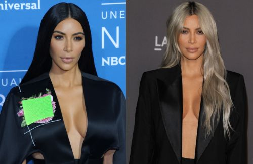 Kim Kardashian Considers Coloring Her Hair Red