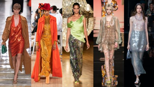 Sequins Are Covering the Spring 2020 Runways