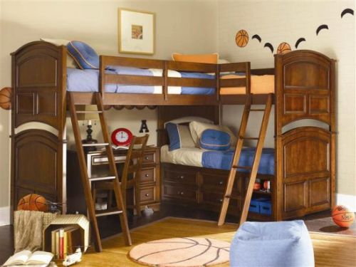 30 Luxury Wood Bunk Bed with Desk Images