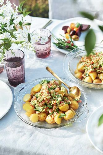 Recipe: New Potatoes with George's Guacamole
